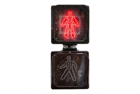 focal pedestre vermelho