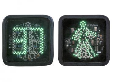 Pedestre Verde com Simulação de Caminhada